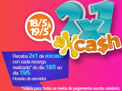axesocash: Promo 2 x 1