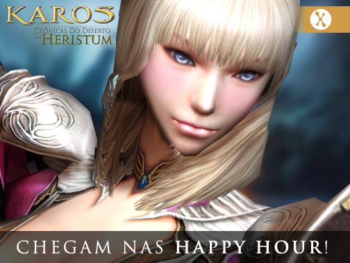 KAROS: Chegam nas Happy Hours