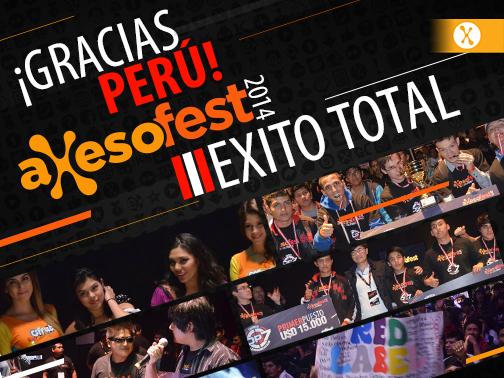 éxito axesofest 2014