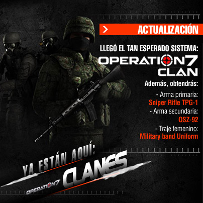 Clanes en Operation7 Latino