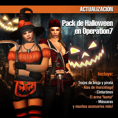 Halloween en Operation7